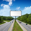 Billboard on americtollway — Stock Photo #6305923
