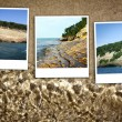 Upper Peninsula Michigan Background — Stock Photo