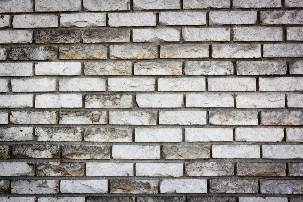 White Old Brick Wall Stock Photo 6593968