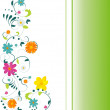 Summer blossom - Stock Vector