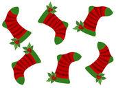 Weihnachten nahtlose muster — Stockvektor