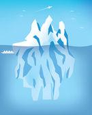 北极景观 — 图库矢量图片