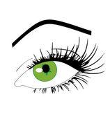 Schöne Augen — Stockvektor