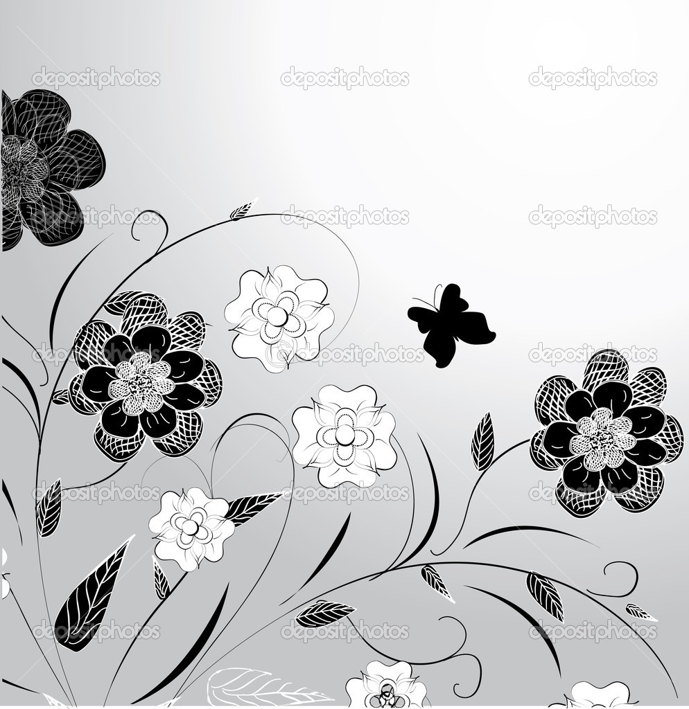 Floral design — Stock Vector #5797059
