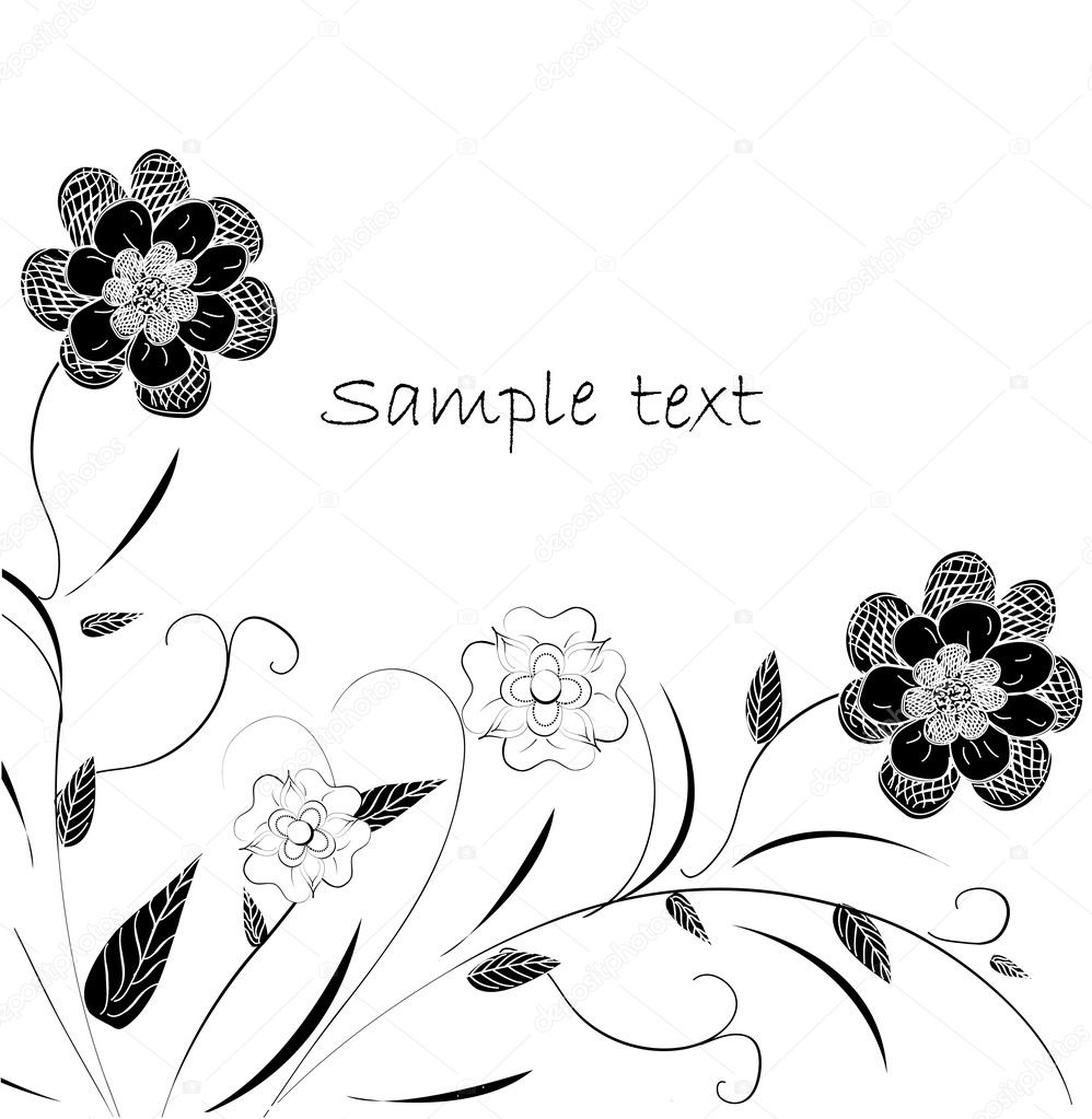 Floral design — Stock Vector #5797060