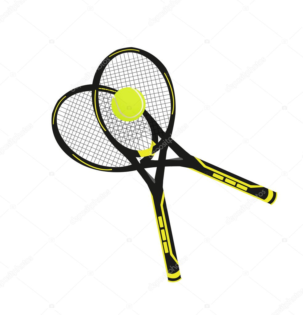 Tennis Equipment — Stock Vector #5797102