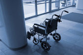 Empty wheelchair — Stock Photo