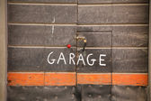 Garage entrance — Stockfoto