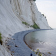 Stock Photo: Chalk cliffs of Moen