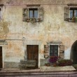 Village home Italy — Stock Photo