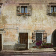 Stock Photo: Village home Italy