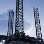 Oil rig Denmark — Stock Photo #5805634