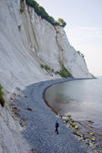 The chalk cliffs of Moen — Stock Photo