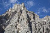 Barren mountain peaks — Stock Photo