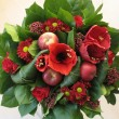Red bouquet — Stock Photo #5812055