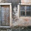 Stock Photo: Decayed house Croatia