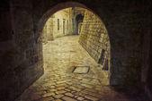 Alley Kotor Montenegro — Stock Photo