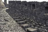 średniowieczne miasto kotor ściany — Zdjęcie stockowe
