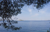 Verano marco croacia — Foto de Stock