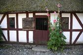 Danish farmhouse — Stock Photo