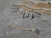 Sito di costruzione urbana — Foto Stock