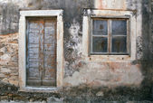 Decayed house Croatia — Stock Photo