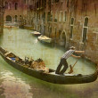 Stock Photo: Gondol- Venice