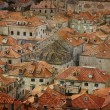 Tile roofs of Dubrovnik — Stock Photo