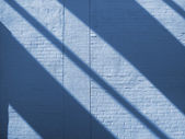 Shadow on modern wall — Stock Photo