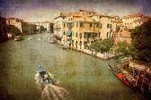 Gran canal - venecia — Foto de Stock