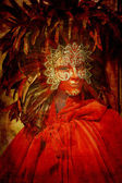 Carnival costume — Stock Photo