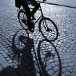 Stock Photo: Afternoon biking