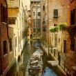 Narrow canal Venice — Stock Photo #5963883