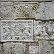 Ancient reliefs — Stock Photo