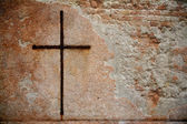 Rusty Cross - Venice — Stock Photo