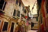 Washing day Venice — Stock Photo