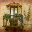 Royalty-Free Stock Photo: Tiny balcony Piedmont