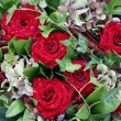 Decoration with red roses — Stock Photo #6574260