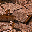 Roofs of Gubbio Italy — Stock Photo