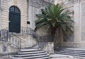 Grammar school Dubrovnik — Stock Photo