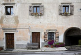 Byn hem Italien — Stockfoto