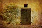 Monteforte ładne drzwi alba — Zdjęcie stockowe