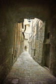Alley Peugia Umbria — Stock Photo