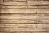 Old wooden background with horizontal boards — Stock Photo