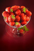 A chalice of strawberries — Стоковое фото