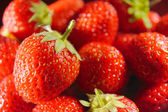 Fresh strawberry background horizontal — Stock Photo