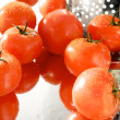 Tomatoes in strainer — Stock Photo #5955778