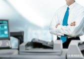 Office Business Printer — Stock Photo