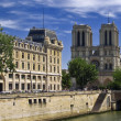 Royalty-Free Stock Photo: Notre Dame Cathedral in Paris