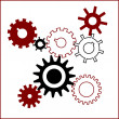 Gears background — Stock Vector